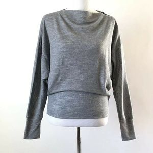 We The Free Gray Long Sleeve Top New With Tags